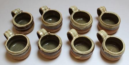 Mugs (above)