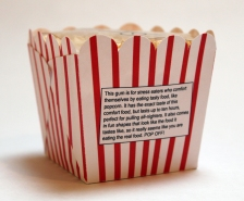 Relax Packs Popcorn Gum (description)