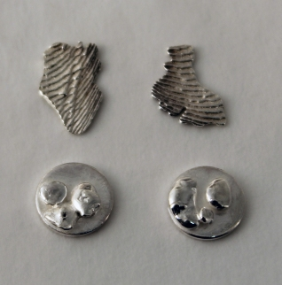 Silver Texture Plates