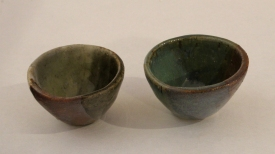 Two Small Color Cups